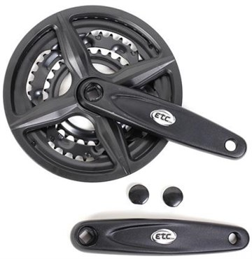 Image of ETC Alloy/Steel Triple Chainset