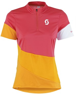 Image of Scott Trail Flow Short Sleeve Womens Cycling Jersey
