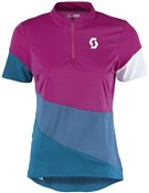 Scott Trail Flow Short Sleeve Womens Cycling Jersey