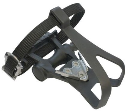 ETC Resin Road Pedals Inc Toe Clip/Strap