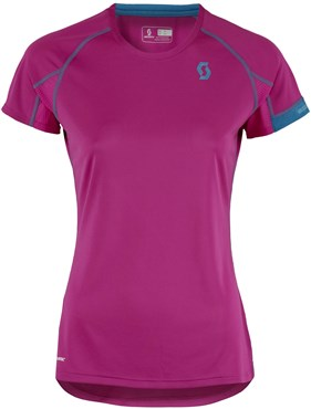 Image of Scott Trail MTN Crew Short Sleeve Womens Cycling Polar