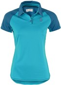 Scott Trail MTN Short Sleeve Womens Cycling Polo Shirt