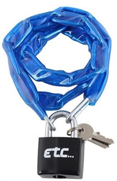 ETC Chain Lock With Padlock