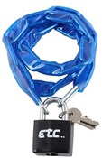 Product image for ETC Chain Lock With Padlock