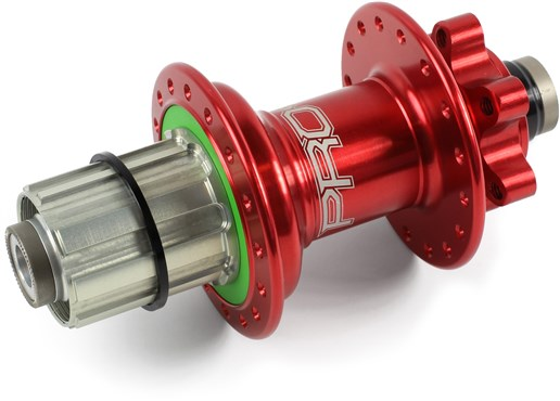 Image of Hope Pro 4 Rear Hub - Red
