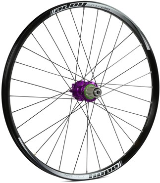 "Image of Hope Tech Enduro - Pro 4 26"" Rear Wheel - Purple"