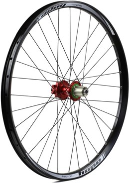 "Image of Hope Tech DH - Pro 4 27.5"" Rear Wheel - Red - 32H"