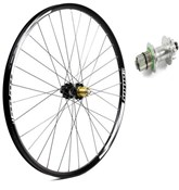 Hope Tech Enduro - Pro 4 27.5 / 650B Rear Wheel - Silver