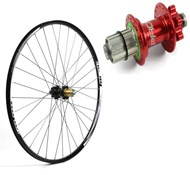 "Hope Tech XC - Pro 4 26"" Rear Wheel - 32 Hole - 135mm"