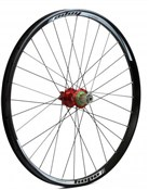 "Hope Tech DH - Pro 4 26"" Rear Wheel - Red - 32H"