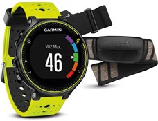 Garmin Forerunner 230 GPS Fitness Watch With Premium Soft-Strap HRM