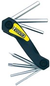 Pedros Folding Hex Set with Torx 25 Multi Tool