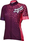 Fox Clothing Switchback Comp Womens Short Sleeve Cycling Jersey AW16