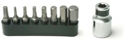 Product image for Pedros Torque Wrench Bit Set