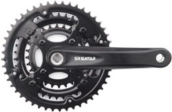 Product image for SR Suntour CW-XCC-T208-PB 28/38/48T Chainset