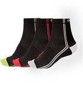Endura Coolmax Stripe II Sock - Triple Pack AW17