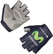 Endura Movistar Team Race Mitt Short Finger Cycling Gloves AW16