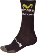 Endura Movistar Team Winter Cycling Sock AW16