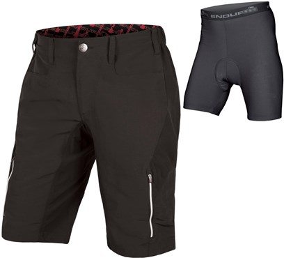 Image of Endura SingleTrack III Baggy Cycling Shorts with Clickfast Liner AW16