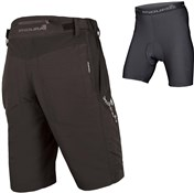 Endura SingleTrack III Baggy Cycling Shorts with Clickfast Liner AW16