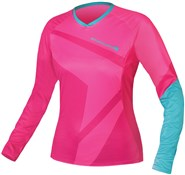 Product image for Endura SingleTrack II Womens T Long Sleeve Cycling Jersey SS16