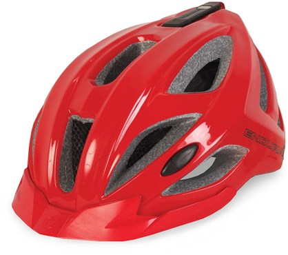 Image of Endura Xtract MTB Cycling Helmet With USB Rechargeable Light AW16
