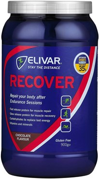 Elivar Recover Post-Training Energy and Protein Powder Drink - 12 x 65g