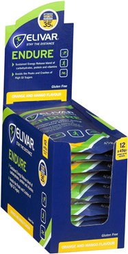 Elivar Endure Sustained Energy Powder Drink - 12 x 45g