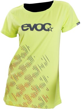 Evoc Logo Womens Short Sleeve Jersey