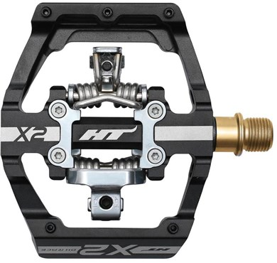 HT Components X2T MTB Pedals With Titanium Axles