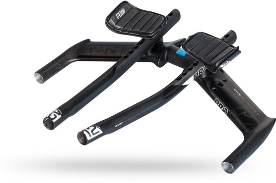 Image of Pro Missile EVO Flat UD Carbon Monocoque TT Aerobar Curved Extensions - 40 cm