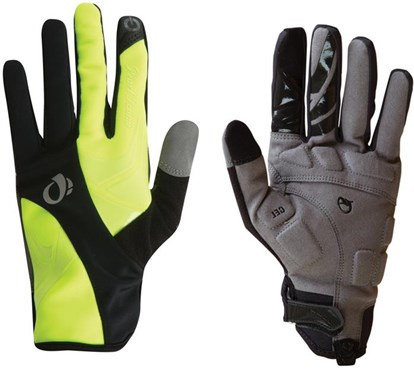 Image of Pearl Izumi Womens Cyclone Gel Full Finger Cycling Gloves SS16
