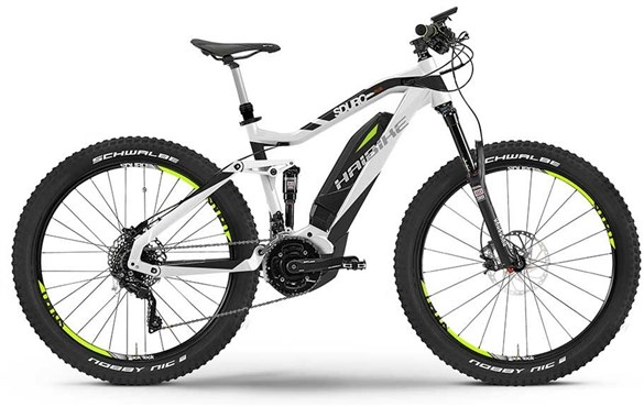 Image of Haibike Sduro ALLMTN Plus Full Suspension MTB 2016 - Electric Bike