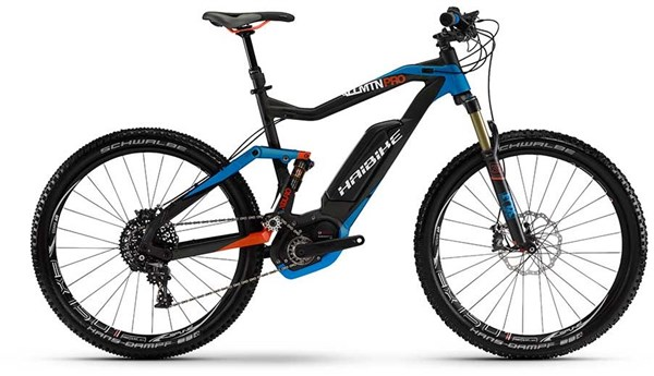 Image of Haibike Xduro ALLMTN Pro Full Suspension MTB 2016 - Electric Bike