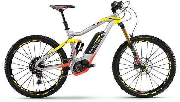 Image of Haibike Xduro Nduro Pro Full Suspension MTB 2016 - Electric Bike