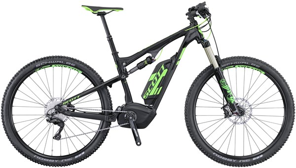 Image of Scott E-Genius 910 Full Suspension MTB 2016 - Electric Bike