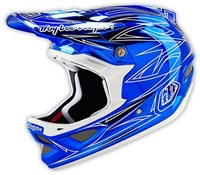 Troy Lee Designs D3 Pinstripe 2 Composite Full Face MTB Mountain Bike Helmet 2016