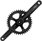Product image for SRAM S350-1 11 Speed Road Chainset - BB30 or GXP - (Cups & Bearings Not Included)