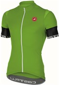 Product image for Castelli Entrata 2 FZ Short Sleeve Cycling Jersey With Full Zip SS17