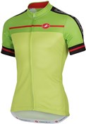 Castelli Velocissimo FZ Short Sleeve Cycling Jersey With Full Zip SS16