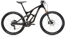 "Polygon Collosus T8 Black 27.5"" Mountain Bike 2017 - Full Suspension MTB"