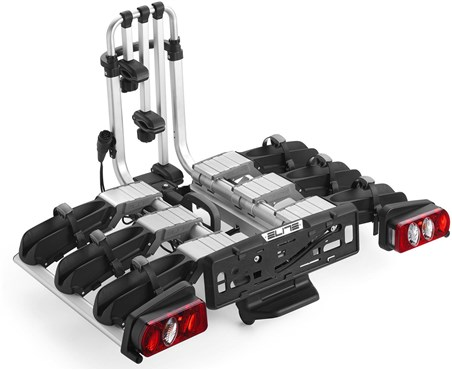 Image of Elite Dolomiti Ramp 3 Bike Folding 13 Pin Towbar Carrier