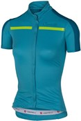 Product image for Castelli Ispirata FZ Womens Short Sleeve Cycling Jersey With Full Zip SS16