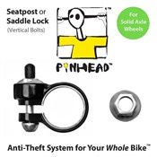 Product image for Pinhead Solid Saddle Lock