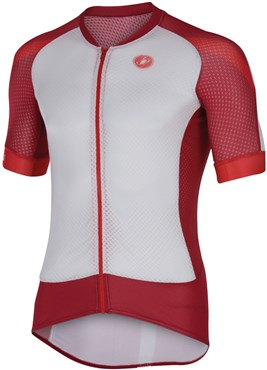 Image of Castelli Climbers 2.0 FZ Short Sleeve Cycling Jersey With Full Zip SS16