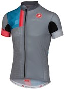 Castelli Rodeo Short Sleeve Cycling Jersey With Full Zip SS16
