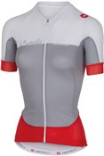 Castelli Aero Race FZ Womens Short Sleeve Cycling Jersey With Full Zip SS16