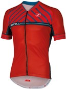 Castelli Scotta FZ Short Sleeve Cycling Jersey With Full Zip SS16