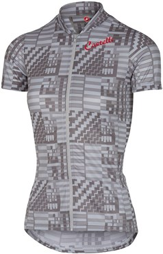 Image of Castelli Sentimento FZ Womens Short Sleeve Cycling Jersey With FulL Zip SS16