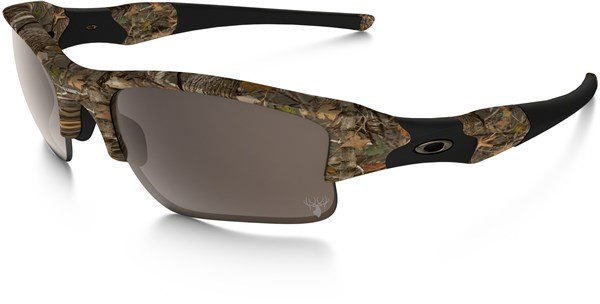 Image of Oakley Flak Jacket XLJ Kings Woodland Camo Sunglasses